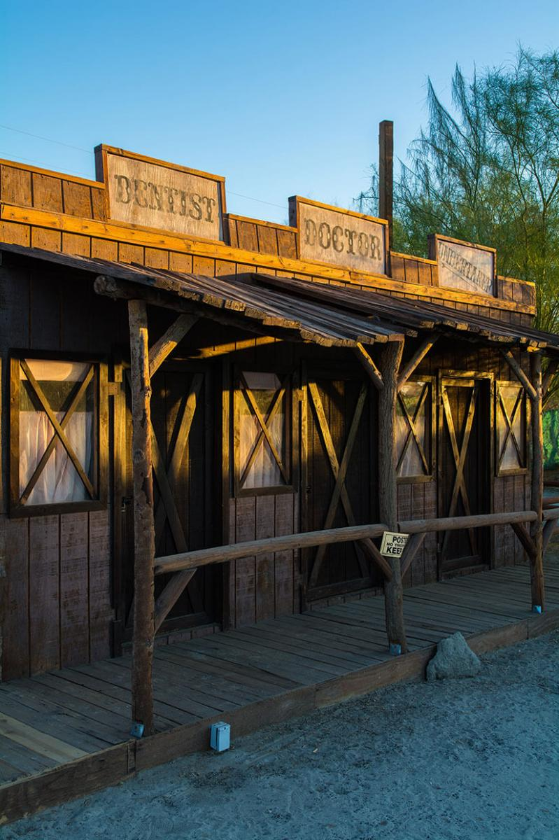 The Palm Springs Western Town Palm Springs Destination